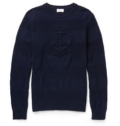 Faconnable Anchor Mercerised-Cotton Sweater