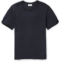 Faconnable Braid-Trimmed Cotton T-Shirt