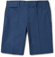 Faconnable Cotton-Poplin Bermuda Shorts