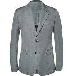 Dolce & Gabbana Slub Cotton and Linen-Blend Jacket
