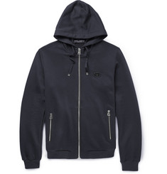 Dolce & Gabbana Cotton and Silk-Blend Jersey Hoodie