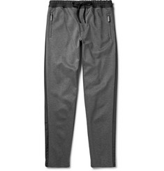 Dolce & Gabbana Satin-Trimmed Cotton-Blend Jersey Sweatpants