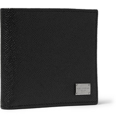 Dolce & Gabbana Textured-Leather Billfold Wallet