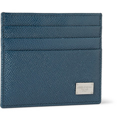 Dolce & Gabbana Full-Grain Leather Cardholder
