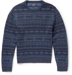 Grayers Fair Isle Wool-Blend Sweater