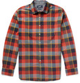 Grayers - Plaid-Check Cotton Shirt
