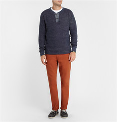 Grayers Long-Sleeved Cotton T-Shirt