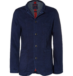 Grayers Indigo Nelson Unstructured Cotton Blazer