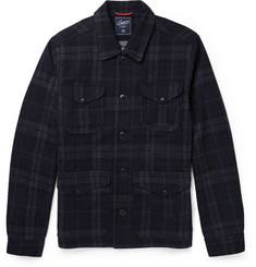 Grayers Plaid Wool-Blend Lumberjack Jacket