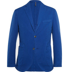 Incotex Slim-Fit Garment-Dyed Cotton Blazer
