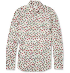 Incotex Ween Slim-Fit Paisley-Print Cotton Shirt