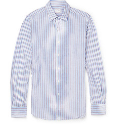 Incotex Kurt Slim-Fit Striped Cotton Oxford Shirt
