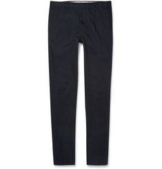 Incotex Tapered Cotton Trousers