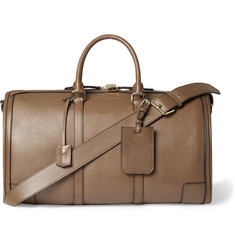 Burberry Shoes & Accessories Grained-Leather Holdall