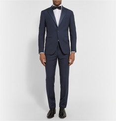 Polo Ralph Lauren Navy Slim-Fit Wool Tuxedo