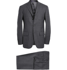 Polo Ralph Lauren Grey Slim-Fit Puppytooth Wool Suit
