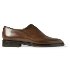 Berluti Blake Venezia Leather Oxford Shoes