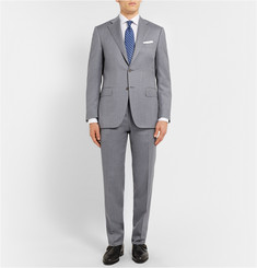 Canali Grey Regular-Fit Wool Suit