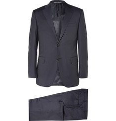 Canali Navy Super 130s Wool Suit