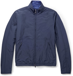 Canali Rain & Wind Tech Reversible Lightweight Jacket