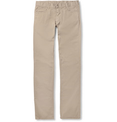 Canali Cotton-Blend Trousers