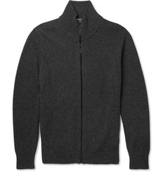 Burberry London Zip-Through Cashmere Sweater