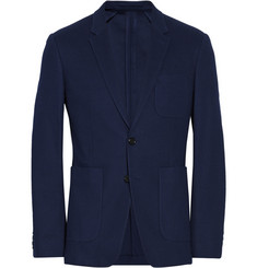 Burberry London Cotton-Piqué Blazer