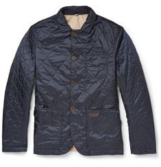 Burberry Brit Reversible Lightweight Quilted Jacket