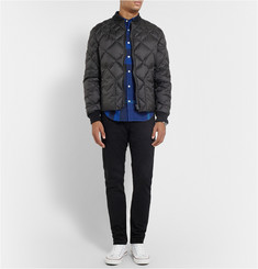 Burberry Brit Quilted Bomber Jacket