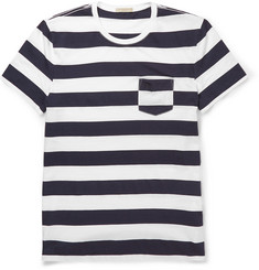 Burberry Brit Striped Cotton T-Shirt