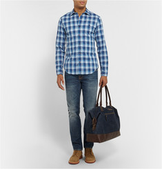 Burberry Brit Slim-Fit Checked Cotton Shirt