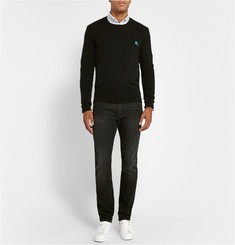 Burberry Brit Crew Neck Cashmere Sweater