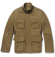 Berluti Cotton and Linen-Blend Field Jacket