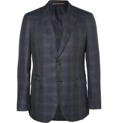 Berluti Navy Wool, Linen and Silk-Blend Blazer
