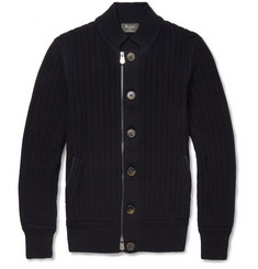 Berluti Cotton and Cashmere-Blend Cardigan