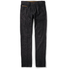 Berluti Straight-Leg Stretch-Denim Jeans