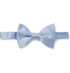 Lanvin New Alber Silk-Satin Bow Tie