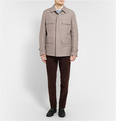 Brioni Cotton and Silk-Blend Field Jacket