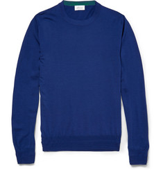 Brioni Crew Neck Wool Sweater