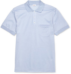 Brioni Fine Cotton-Piqué Polo Shirt