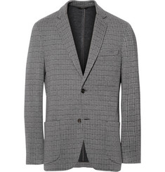 Brioni Unstructured Stretch-Silk and Wool-Blend Blazer