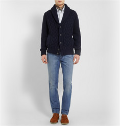 Brioni Washed-Denim Jeans