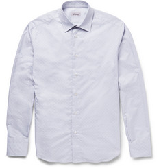 Brioni Checked Cotton Shirt