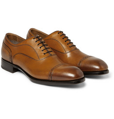 Brioni Leather Derby Brogues