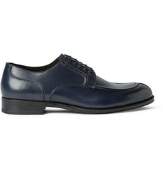 Brioni Leather Derby Shoes