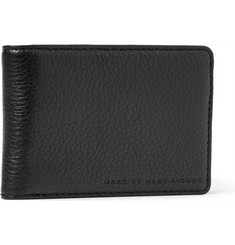 Marc by Marc Jacobs Martin Textured-Leather Billfold Wallet