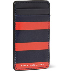 Marc by Marc Jacobs Striped Leather Cardholder