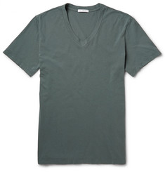 James Perse V-Neck Cotton-Jersey T-Shirt