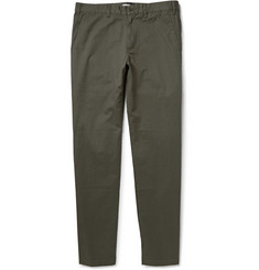 Tomas Maier Cotton-Twill Trousers