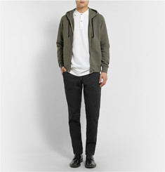 Tomas Maier Loopback Cotton-Jersey Hoodie